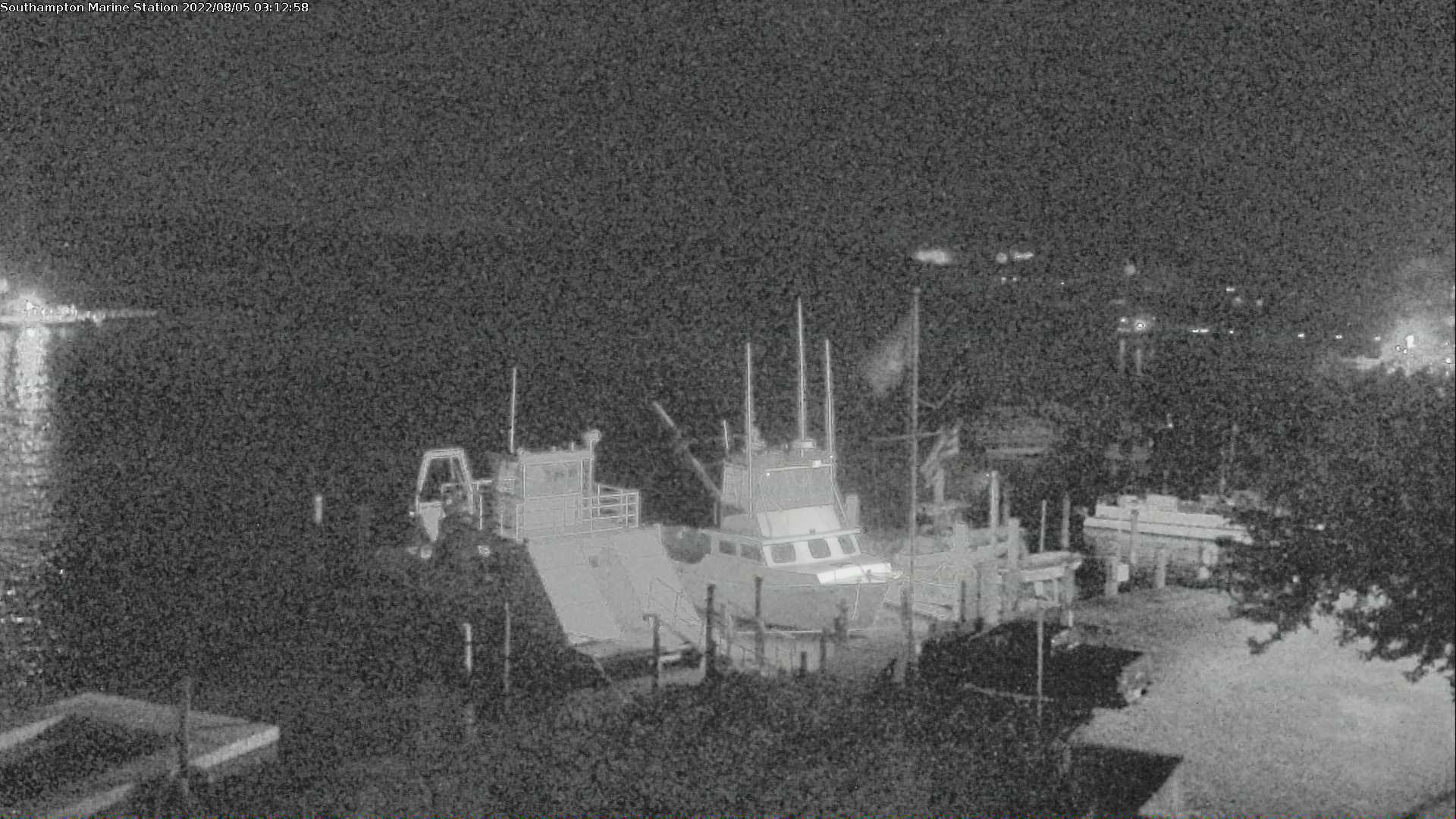 Southampton Marine Science Center Camera looking over Old Fort Pond Bay
